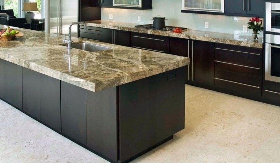 ابعاد استاندارد سنگ کانتر آشپزخانه|standard dimensions of a kitchen counter